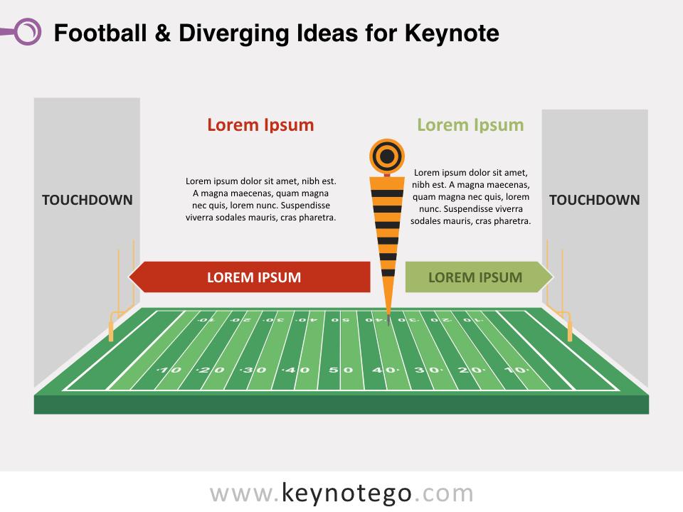 Football Diverging Ideas for Keynote