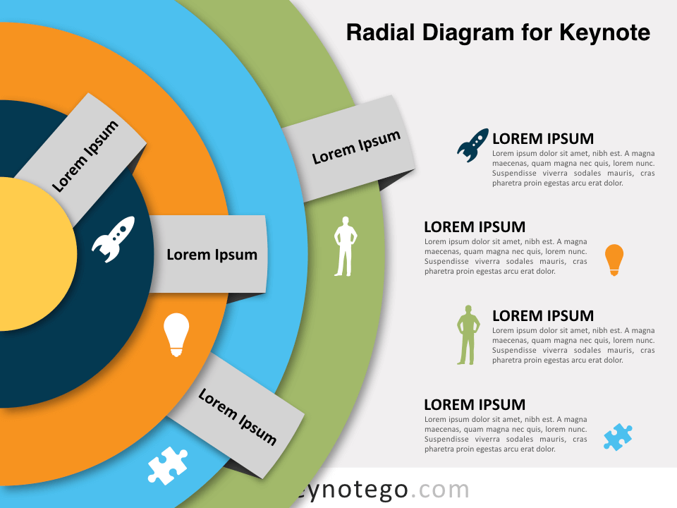 Radial Diagram for Keynote
