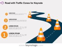Road Traffic Cones for Keynote