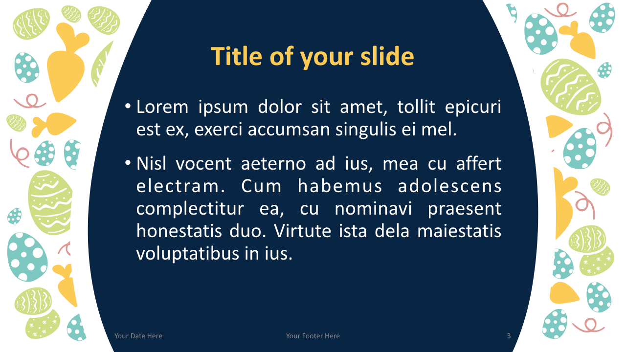 Easter Keynote Template Content Style 1