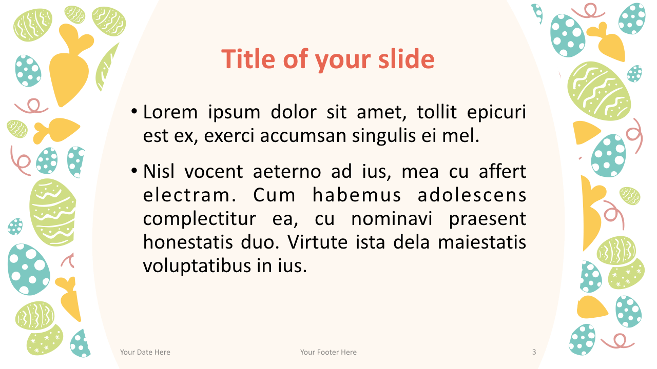 Easter Keynote Template Content Style 2