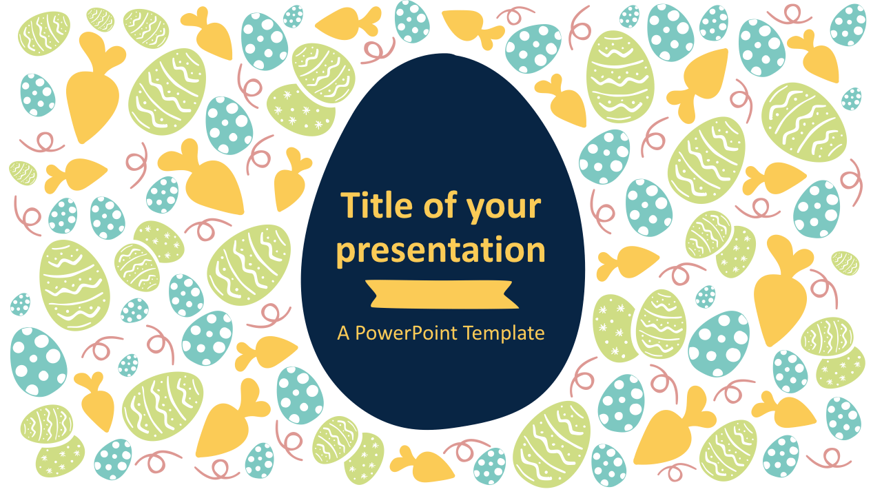 Easter Keynote Template Style 1