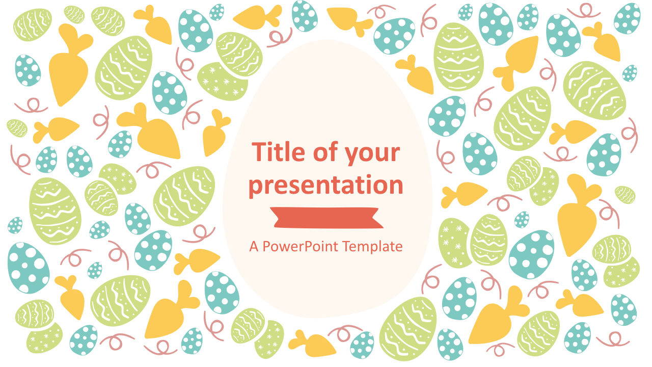 Easter Keynote Template Style 2