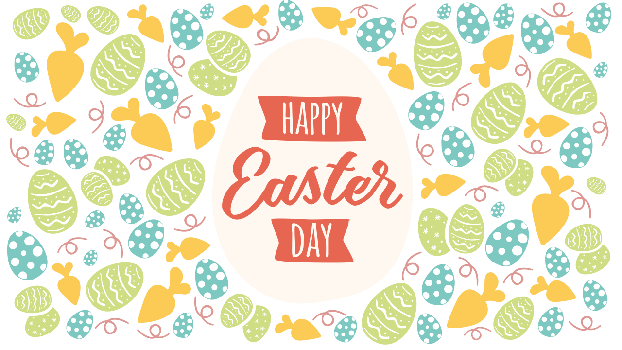 Happy Easter Day Keynote Template Style 2