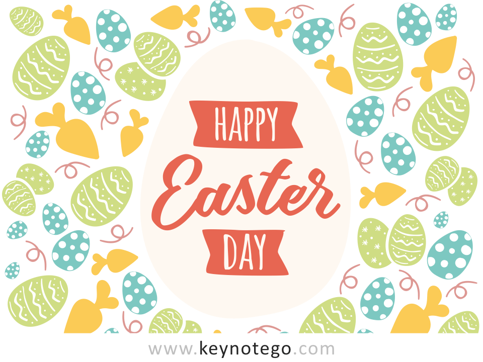 Happy Easter Keynote Template Style 2