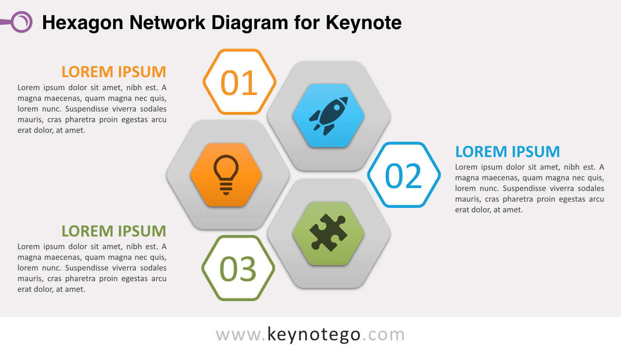 Hexagon Network Keynote Template