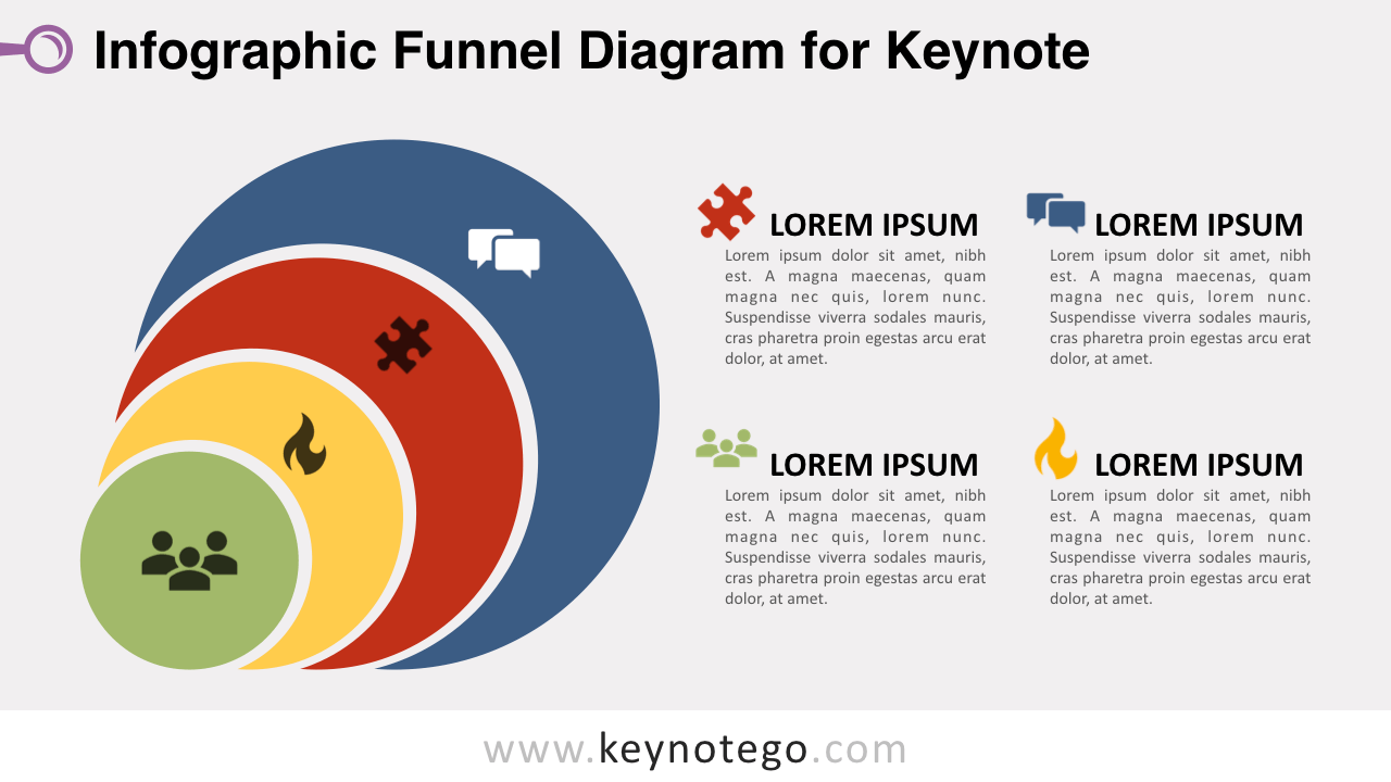 Infographic Funnel Keynote Template