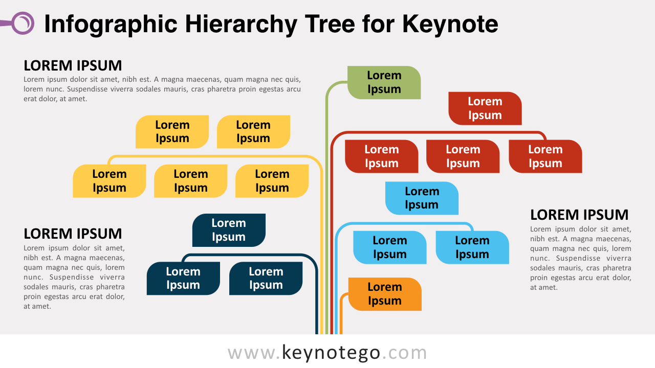 Infographic Tree Keynote Template