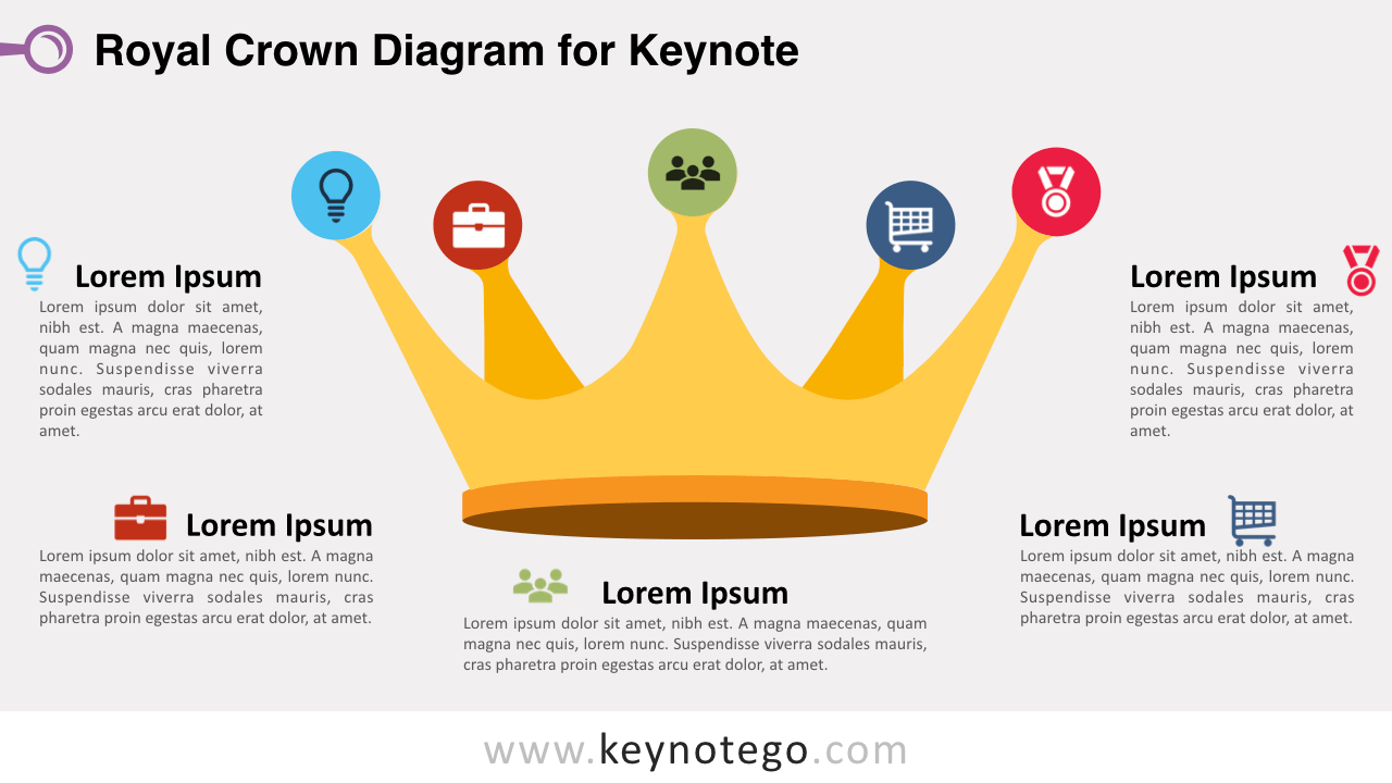 Royal Crown Keynote Template