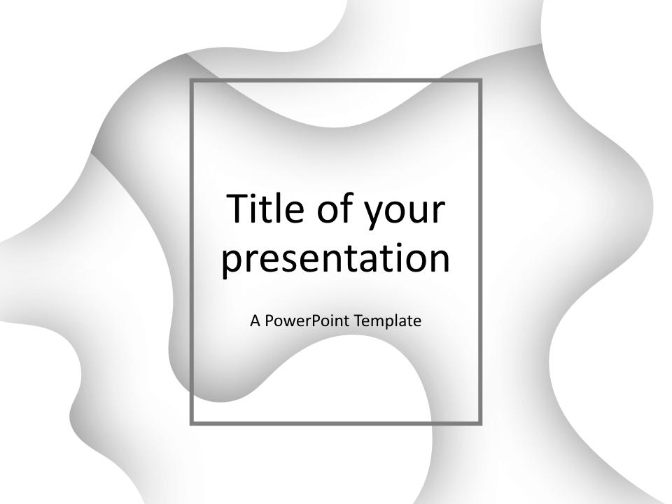 Fluids Keynote Template White
