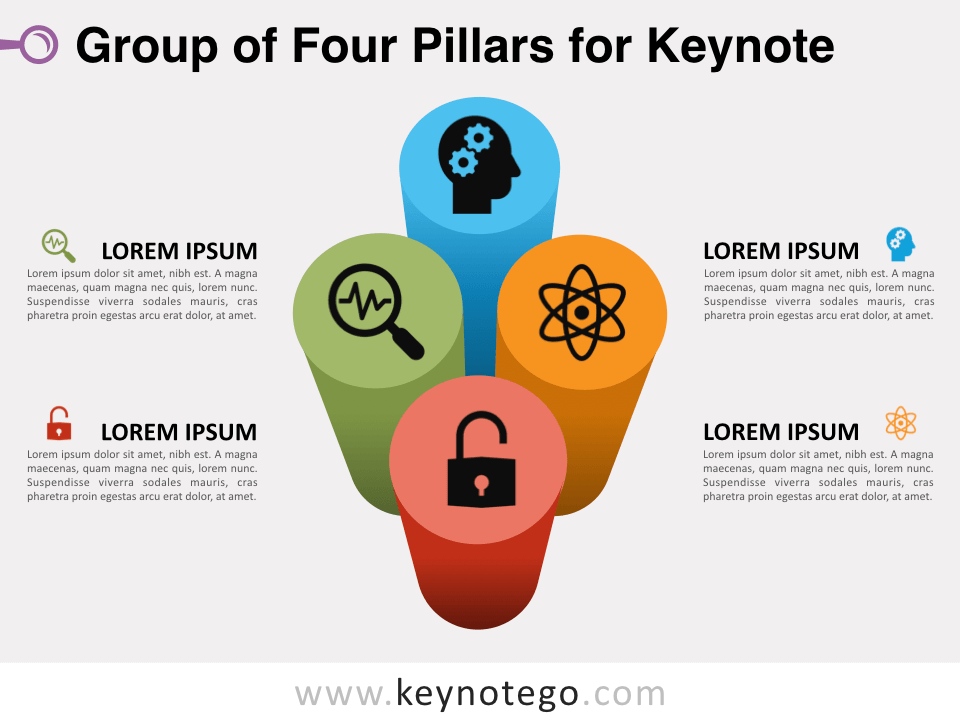 Group Four Pillars for Keynote