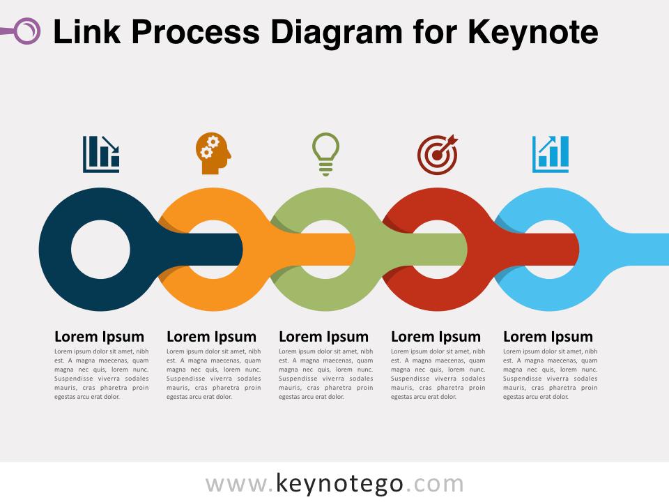 Link Process Diagram for Keynote