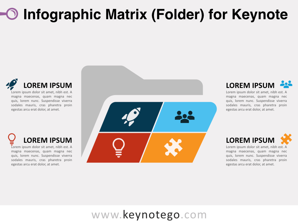 Matrix Folder for Keynote