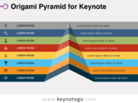 Origami Pyramid for Keynote