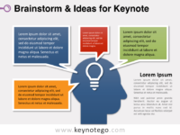 Free Brainstorm Ideas Keynote