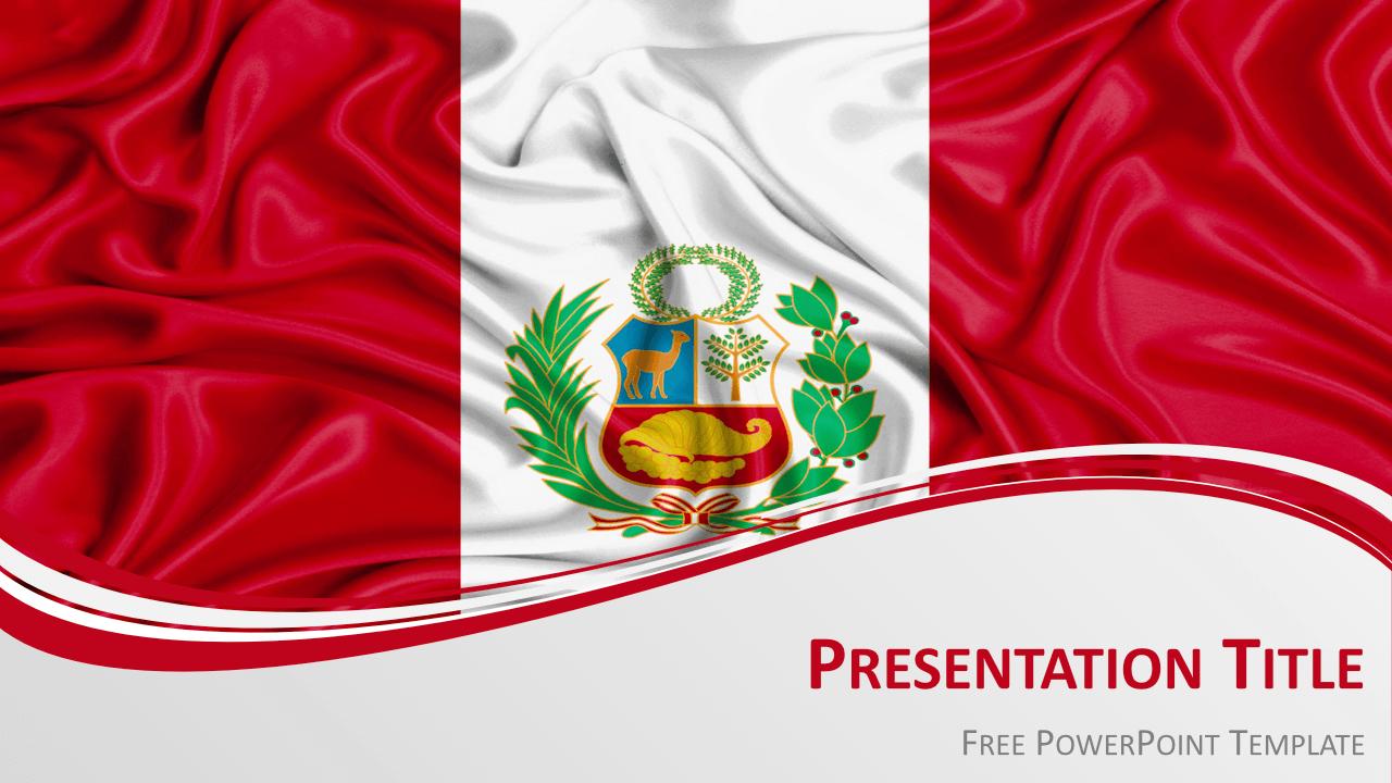 Free Peru Template Keynote
