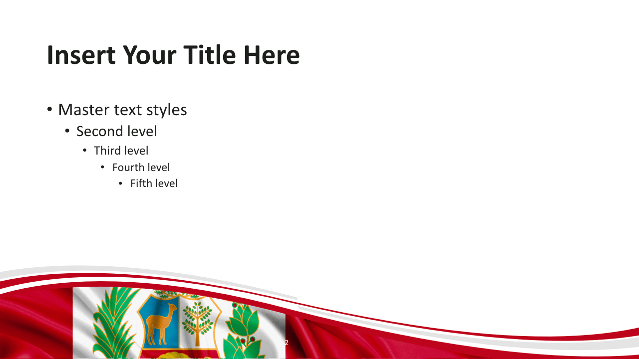 Free Peru Template Slide2 Keynote