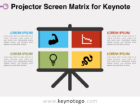 Free Projector Screen Matrix Keynote