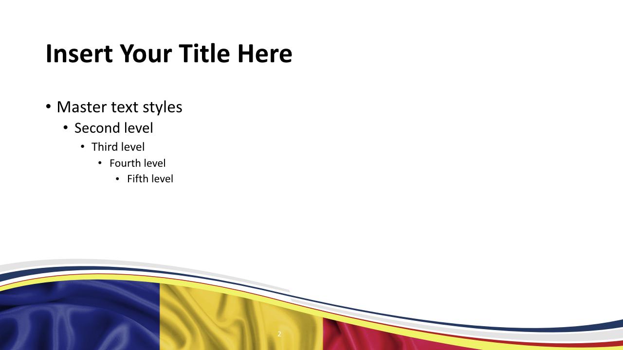 Free Romania Flag Template Slide2 Keynote