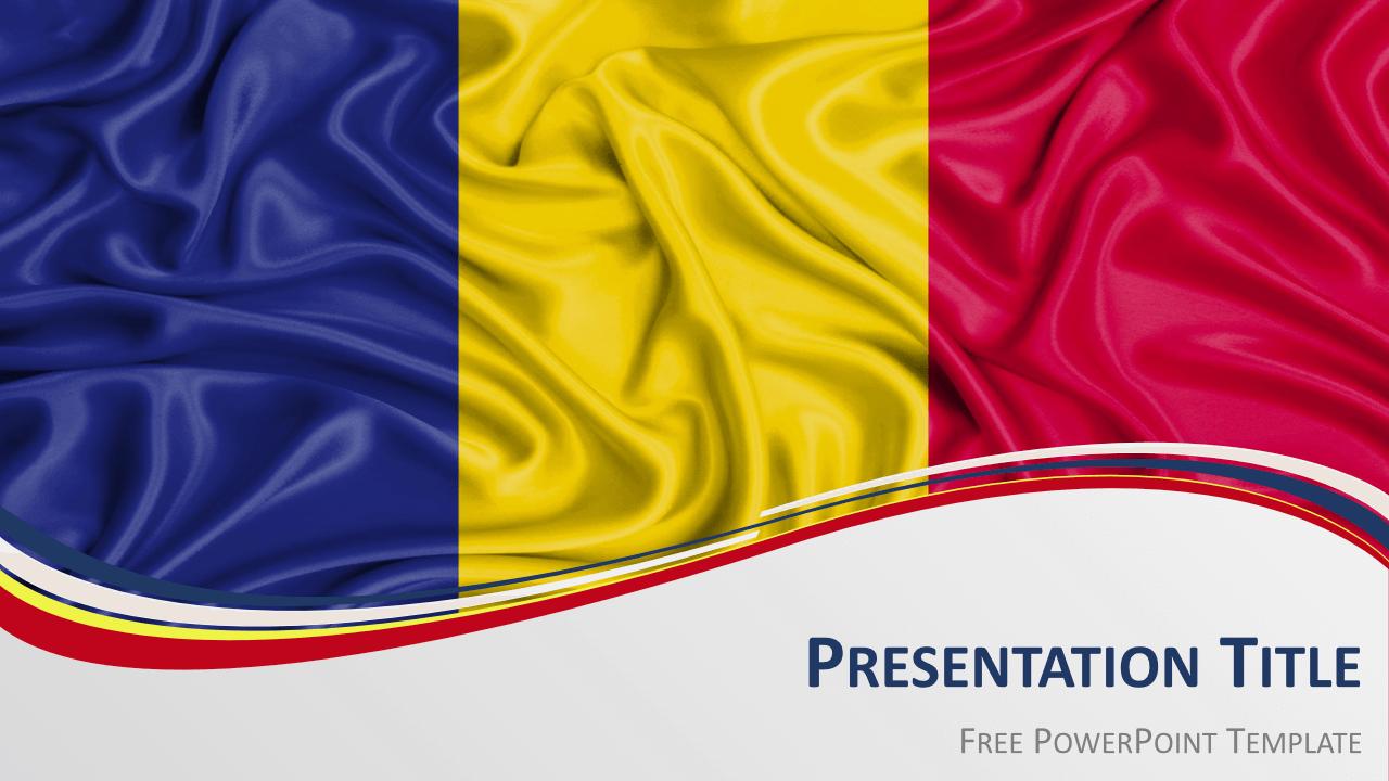 Free Romania Template Keynote