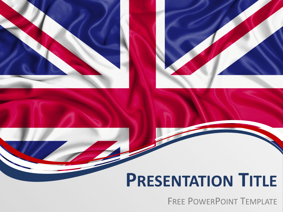 Free UK Flag Keynote Template