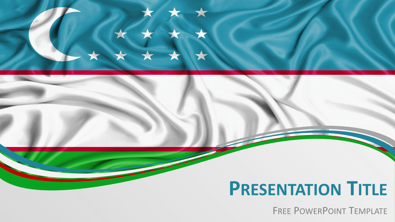 Free Uzbekistan Template Keynote